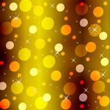 An abstract  gold background Stock Images