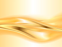 Abstract gold background Stock Image