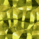 Abstract gold background with light reflections resembling metal foil Royalty Free Stock Image