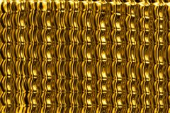 Abstract gold background. Stock Photography