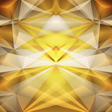 Abstract gold background. Vector Stock Photography