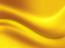 Gold background. Abstract gold background with wave Royalty Free Stock Photography