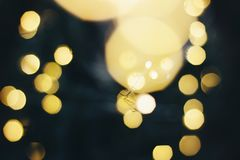 Abstract gold bokeh background for design. stock images
