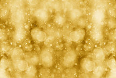 Abstract gold bokeh effect. Abstract gold and balck bokeh effect for background Royalty Free Stock Photo
