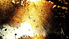 Abstract gold bright light effects on sand brown water on sand texture background. Many uses for advertising, book page, paintings, printing, mobile wallpaper vector illustration