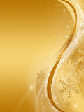 Abstract gold christmas background. Abstract vertical gold christmas background Vector Illustration