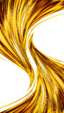 Abstract gold color modern background Royalty Free Stock Photography