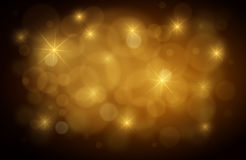 Abstract Gold Defocused Background Stock Images