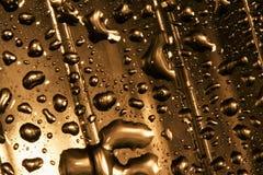 Abstract gold drop Stock Photos