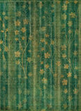 Abstract gold floral background Stock Photography