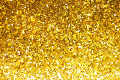 Abstract gold glitter background Stock Photo