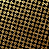 Abstract gold glitter geometric vector background. Abstract gold glitter vector background. Trendy modern and stylish minimal design for poster, cover, card Royalty Free Stock Photo