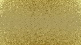 Abstract gold glitter geometric vector background. Gold, glitter abstract background. Cool pattern. Patina golden elements. . Sparkles background. Creative Royalty Free Stock Photos