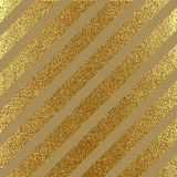 Abstract gold glitter geometric vector background. Abstract gold glitter vector background. Trendy modern and stylish minimal design for poster, cover, card Stock Photography