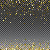 Abstract gold glitter splatter background for the card, invitation, brochure, banner, web design Stock Photography
