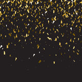 Abstract gold glitter splatter background for the card Royalty Free Stock Photos