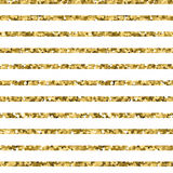 Abstract gold glitter striped background. sparkles and white stripes. EPS Royalty Free Stock Photos