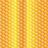 Abstract gold grid background Stock Photography