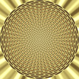 Abstract gold jewel Stock Image