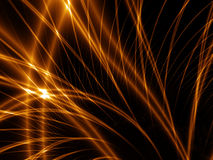 Abstract gold lines Royalty Free Stock Image