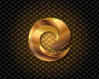 Abstract Gold Logo Vector Stock Photos