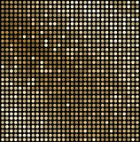 Abstract gold mosaic background Stock Photography