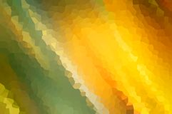 Abstract gold motion blur with crystallize effect, use as the background of an element. Royalty Free Stock Images