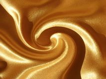 Abstract gold (orange) swirl background royalty free stock photo
