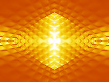 Abstract gold pattern Royalty Free Stock Images