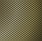 Abstract gold pattern background. Royalty Free Stock Photos