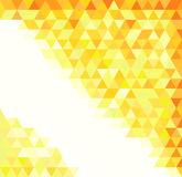 Abstract gold pattern Stock Image