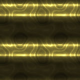 Abstract gold pattern of stripes on a black background Royalty Free Stock Photos