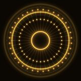 Abstract gold ring stock photography