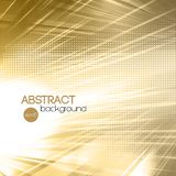 Abstract gold shiny template background Royalty Free Stock Images