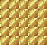 Abstract gold tartan pattern Royalty Free Stock Image