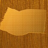 Abstract Gold Texture. Digitally created abstract gold texture with a banner border in the centre stock photo