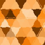 Abstract gold triangle blur background, elegant pattern, camouflage ornament vector illustration