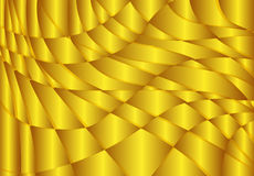 Abstract gold wave Vector Background Royalty Free Stock Images