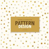 Abstract gold and white pattern background Stock Photo
