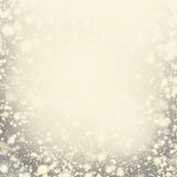 Abstract Golden  Background with Christmas Glitter Royalty Free Stock Photo