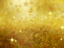 Abstract golden  background . Royalty Free Stock Images