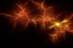 Abstract golden background, Energy Stock Photography