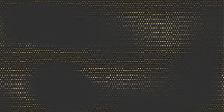 Abstract golden background with halftone effect. Abstract golden background. Halftone effect with luxury dotted design. Gold with black color. Vector stock illustration