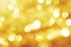 Abstract  golden background Royalty Free Stock Photography