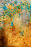 Abstract golden background texture Stock Image