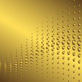 Abstract golden background (vector) Stock Image