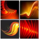 Abstract golden background. Vector Royalty Free Stock Photo