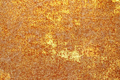 Abstract golden and brown rusty blurred background Royalty Free Stock Images