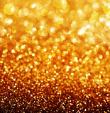 Abstract Golden Christmas background royalty free stock photography