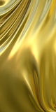 Abstract golden cloth background. 3d illustration. Abstract gold and luxury cloth background. 3d illustration Royalty Free Stock Photo
